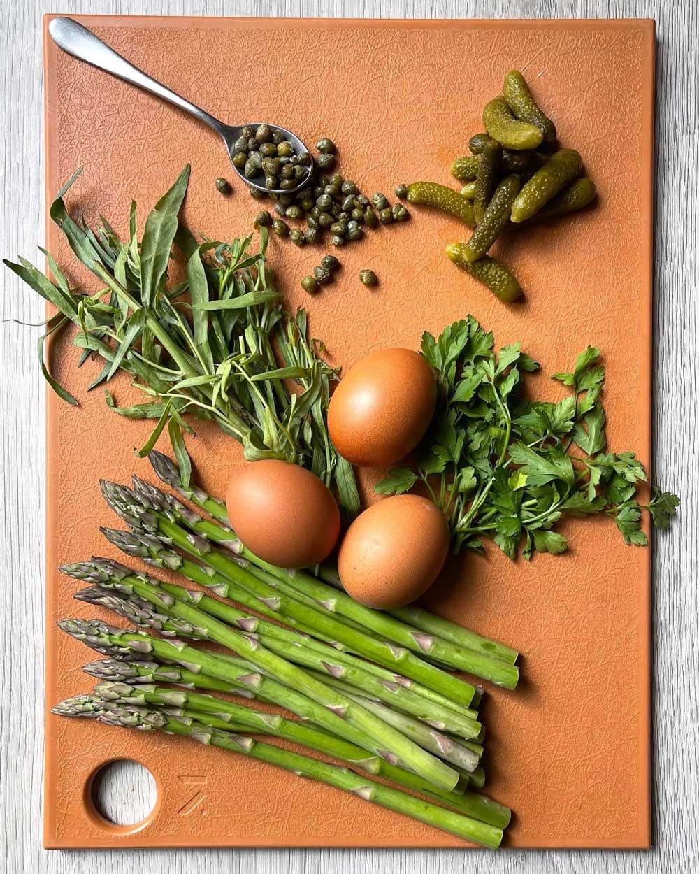 gribiche-salad-ingredients